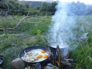 Abendessen ist fertig.